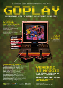 Retrogaming GOPLAY-LOCANDINA