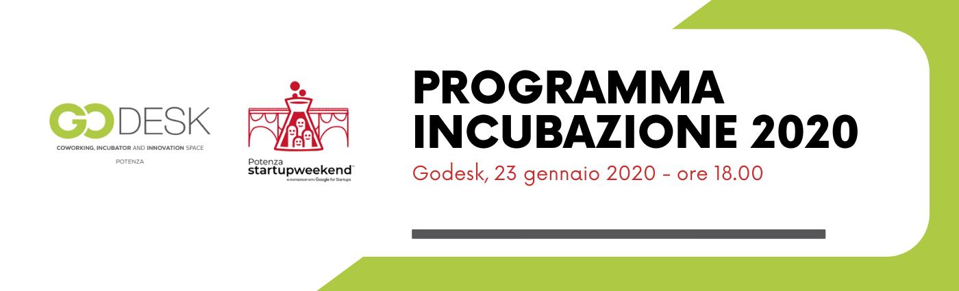 Programma Incubazione 2020